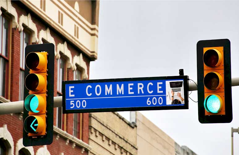 You currently have a retail store but you want to go online to do e-commerce for much higher profitability and growth?